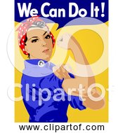 Free Clipart Of We Can Do It Rosie