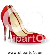 Free Clipart Of Red High Heels