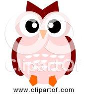 Free Clipart Of A Cute Cartoon Owl
