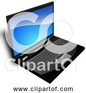 Free Clipart Of A Computer Laptop