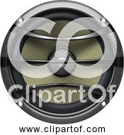 Free Clipart Of A Subwoofer