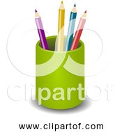 Free Clipart Of A Pen Pencil Holder