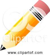 Free Clipart Of A Fat Pencil