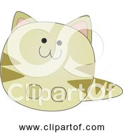 Free Clipart Of Little Cartoon Cat
