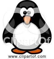 Free Clipart Of Little Cartoon Penguin