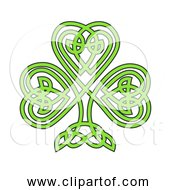 Free Clipart Of Celtic Shamrock