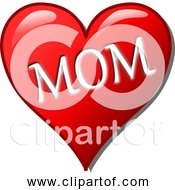 Free Clipart Of Mothers Day Love Heart