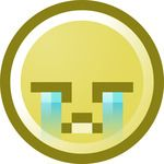 Free Crying Smiley Face Clip Art Illustration