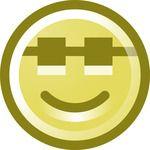 Free Happy Sunglasses Smiley Face Clip Art Illustration