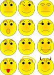Free Vector Clipart Illustration Smileys