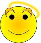 Free Angel Smiley
