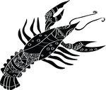 Free Clipart Of A Horoscope Astrology Zodiac Cancer Design