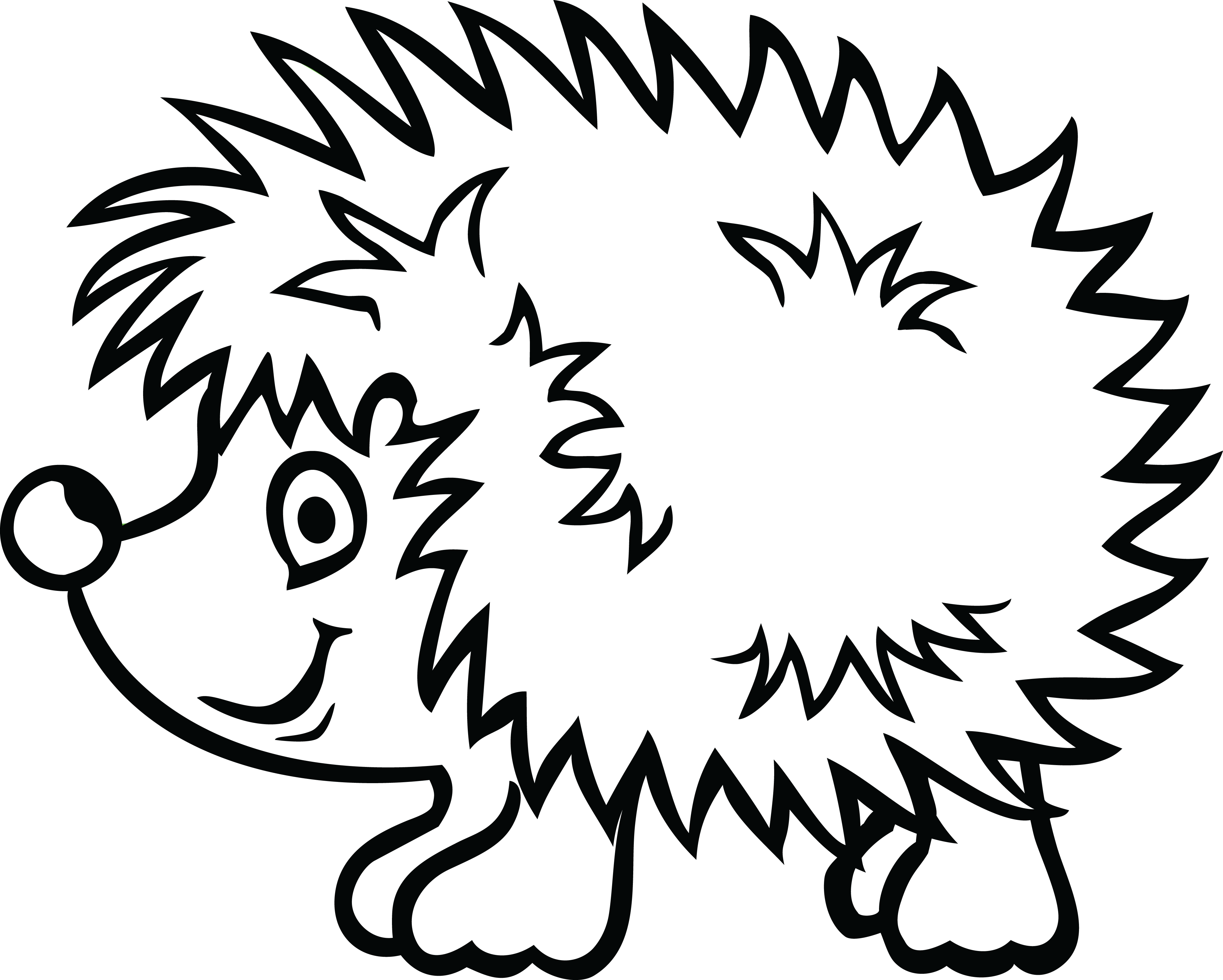 free clipart of a hedgehog Garfield The Cat Clip Art Full Dog Bowl Clip Art
