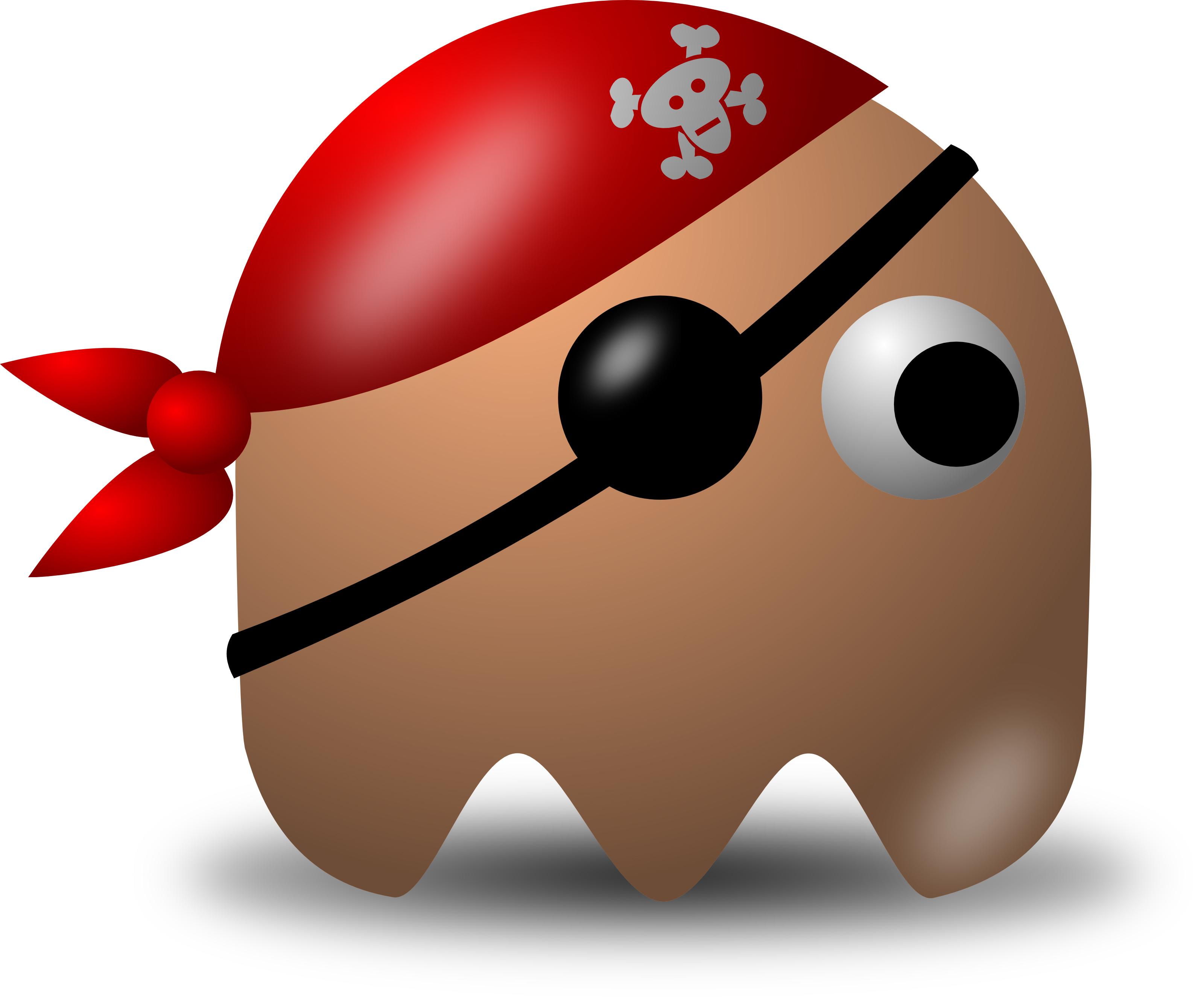 Avatar Pirate Character Wearing Eyepatch And Bandana ...