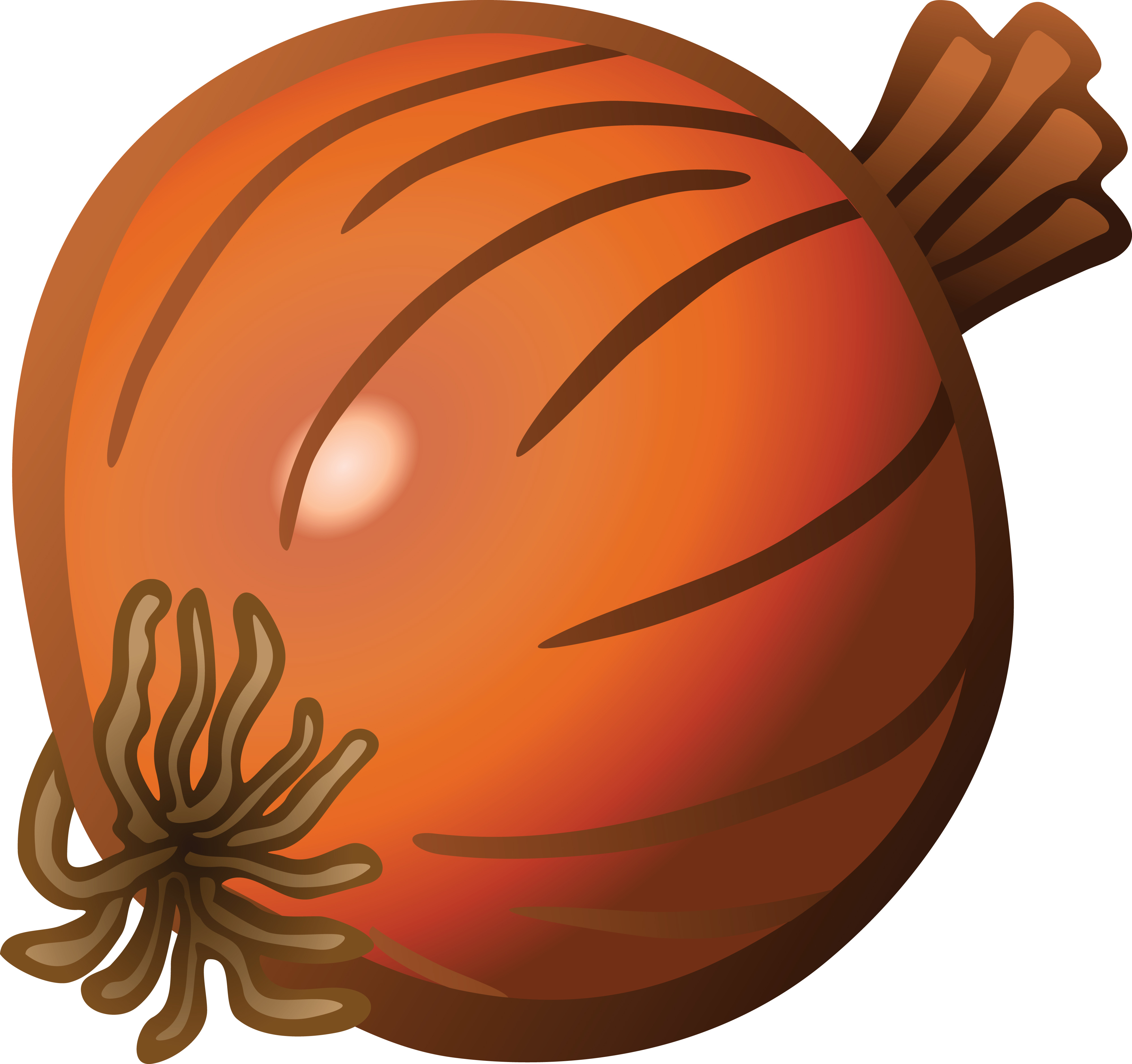 free clipart of an onion