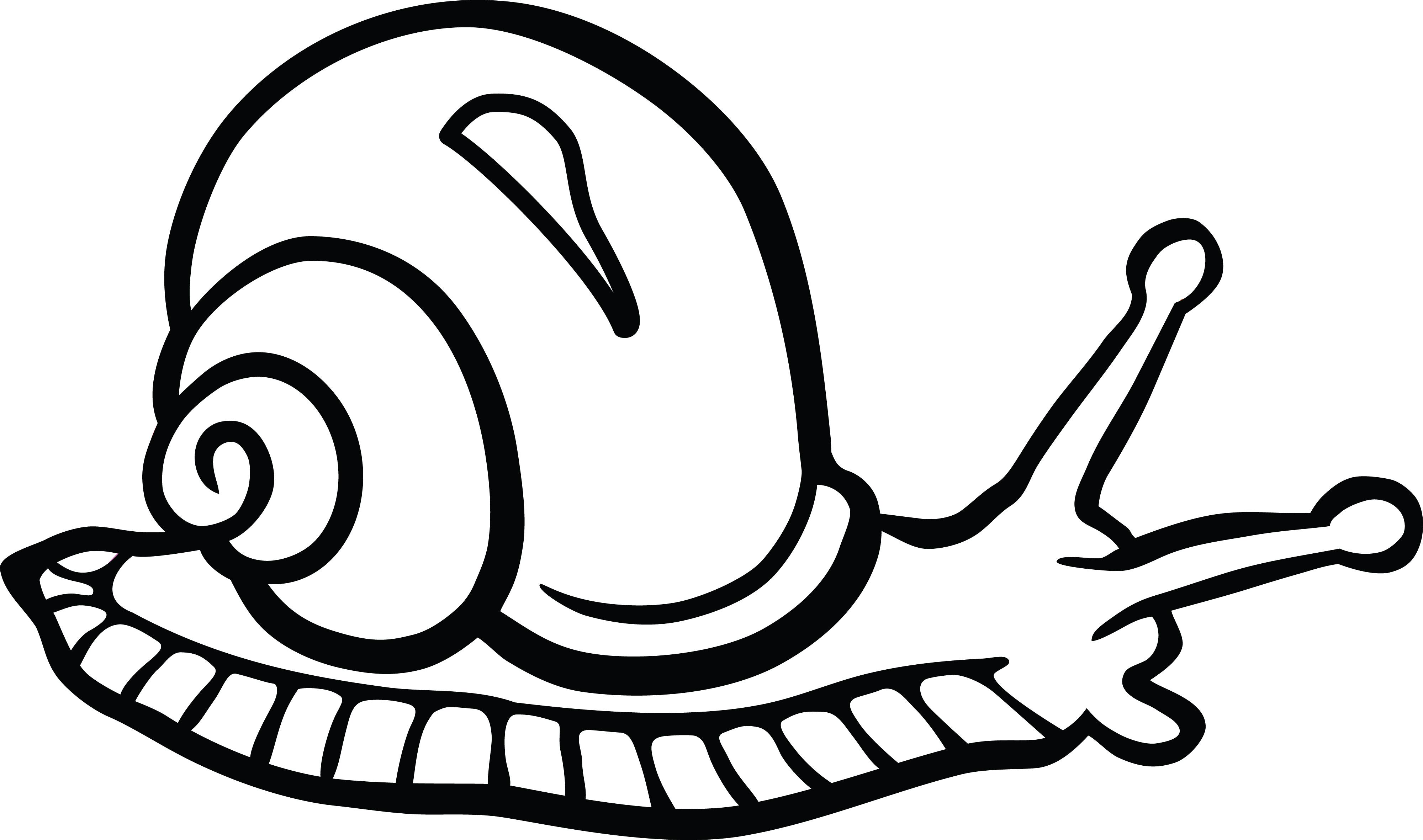 free clipart of a snail rh free clipartof com free snail clipart snail clip art outline