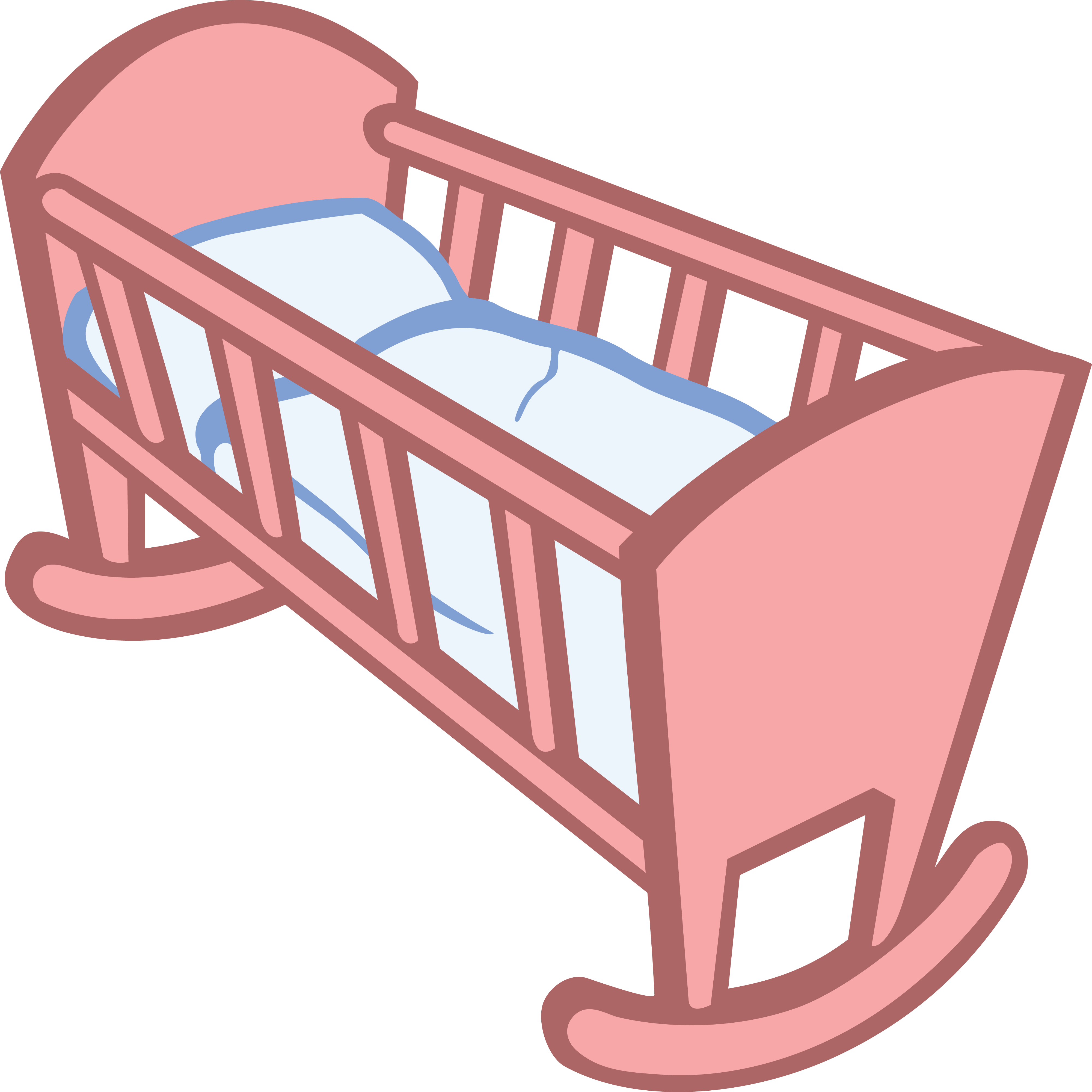 free clipart of a baby crib - free clipart of a baby crib