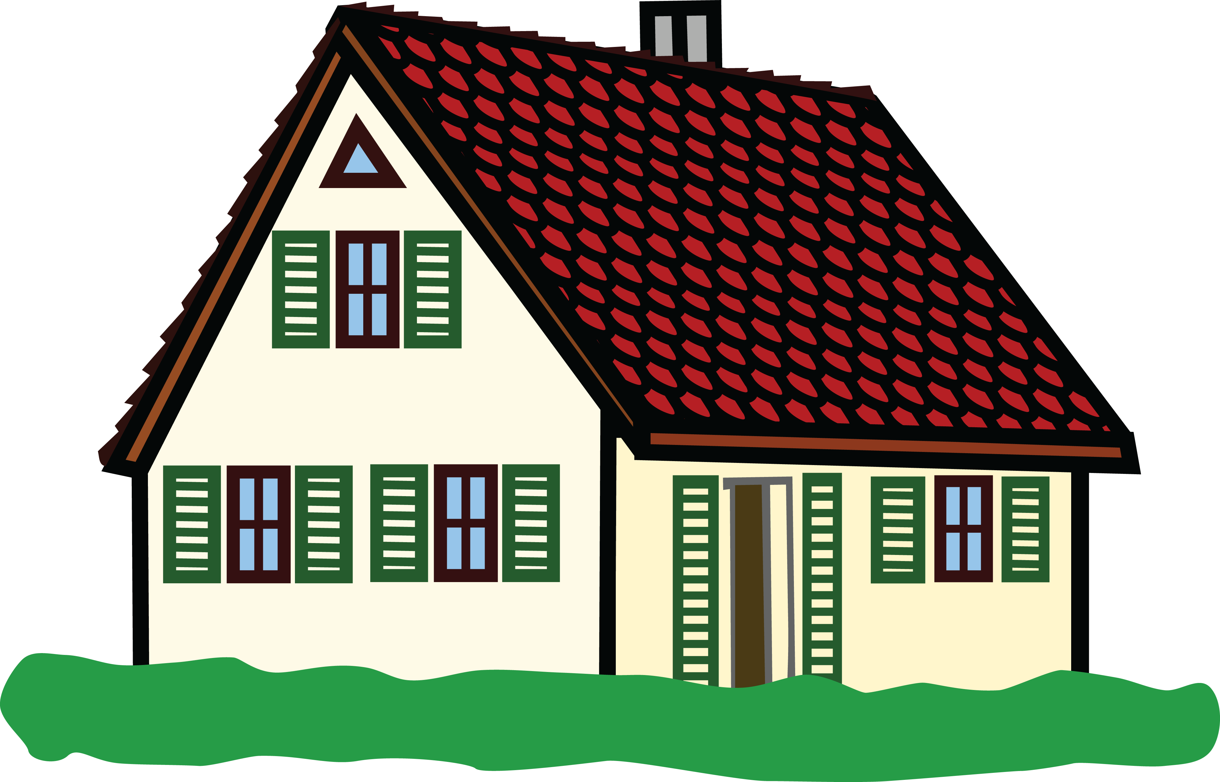 Free Clipart Of A House 00011673