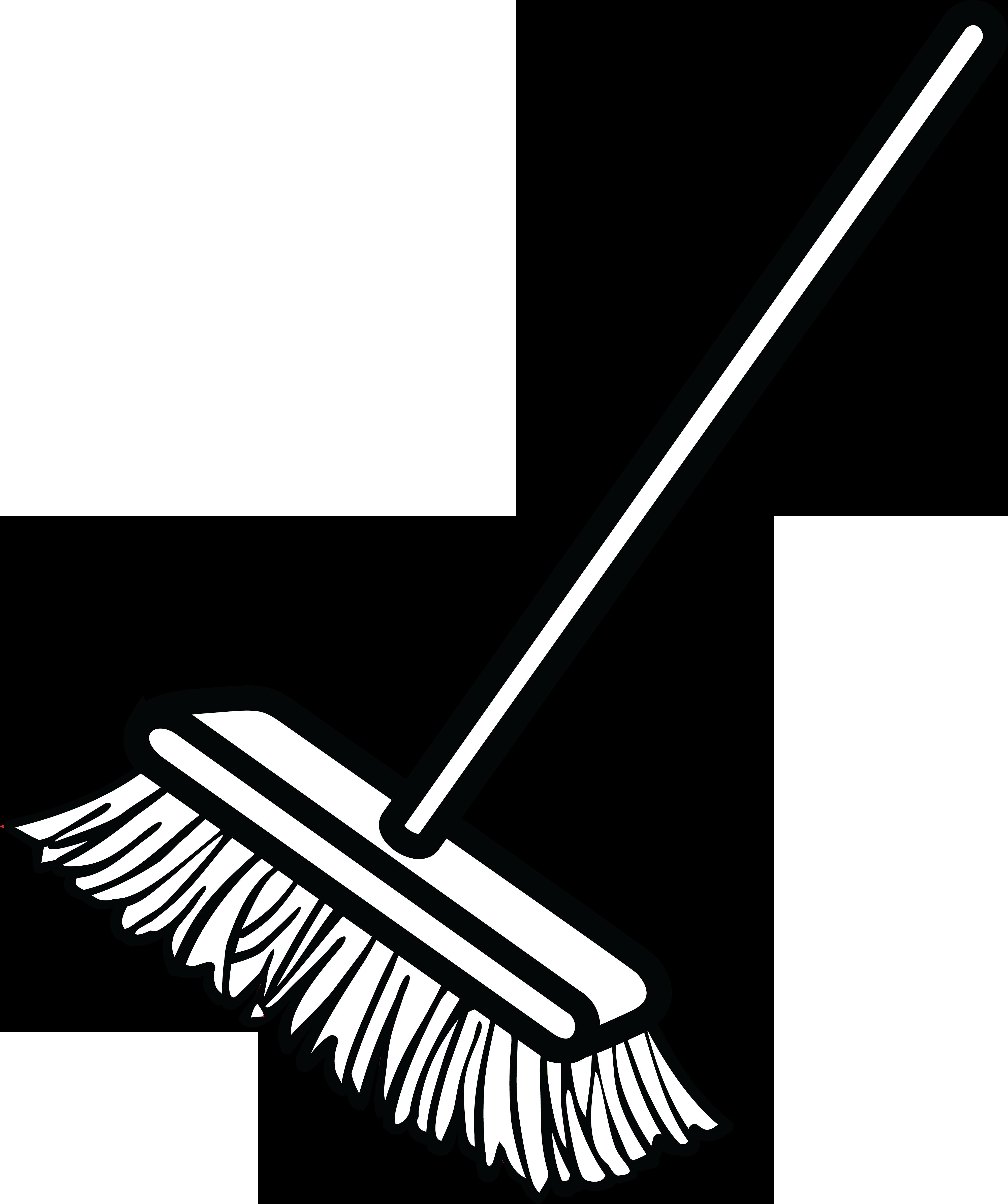 free clipart of a shop broom rh free clipartof com broom clipart free clipart broom sweeping