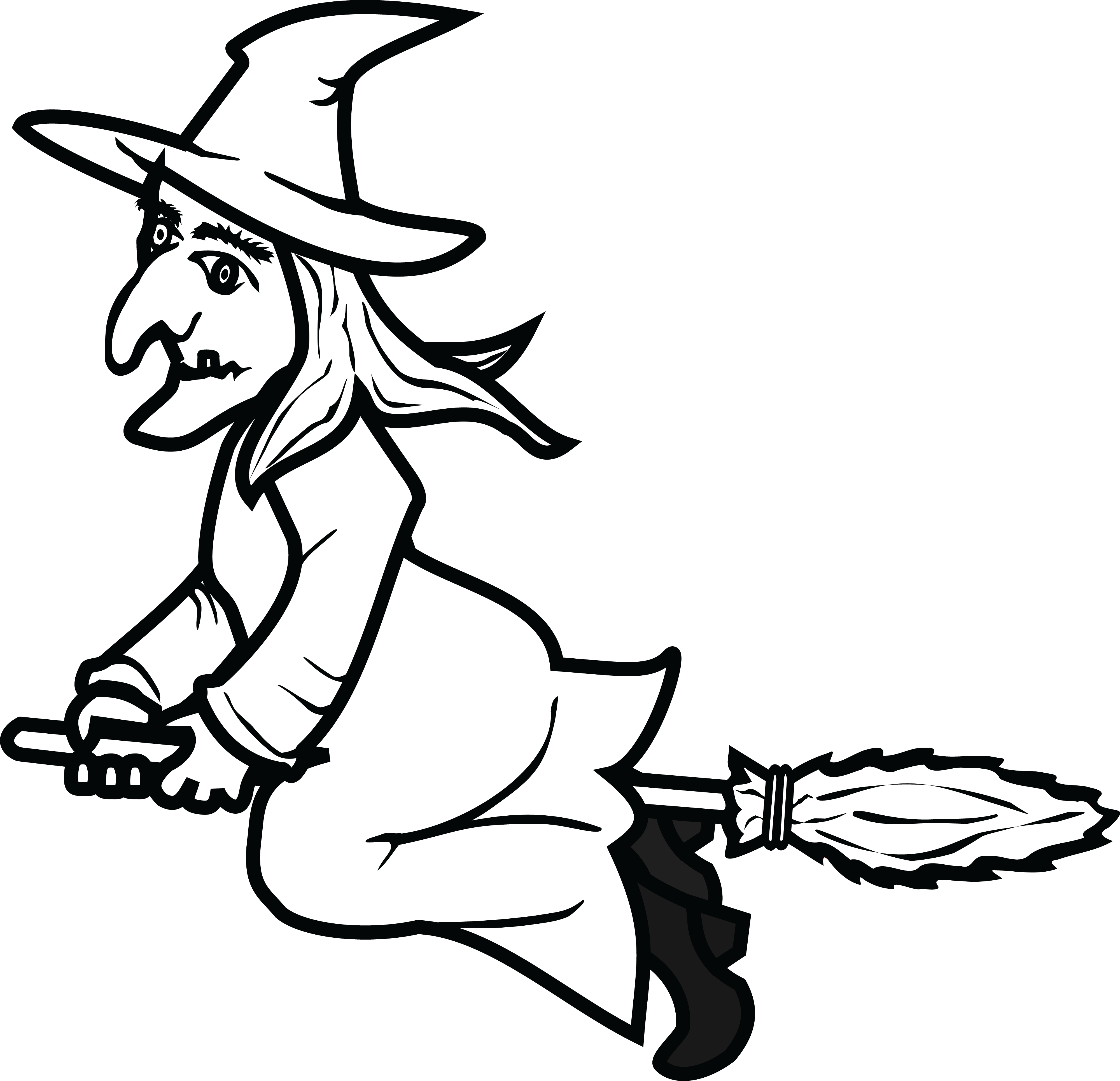 free clipart of a flying witch rh free clipartof com witch clip art black and white which clipboard