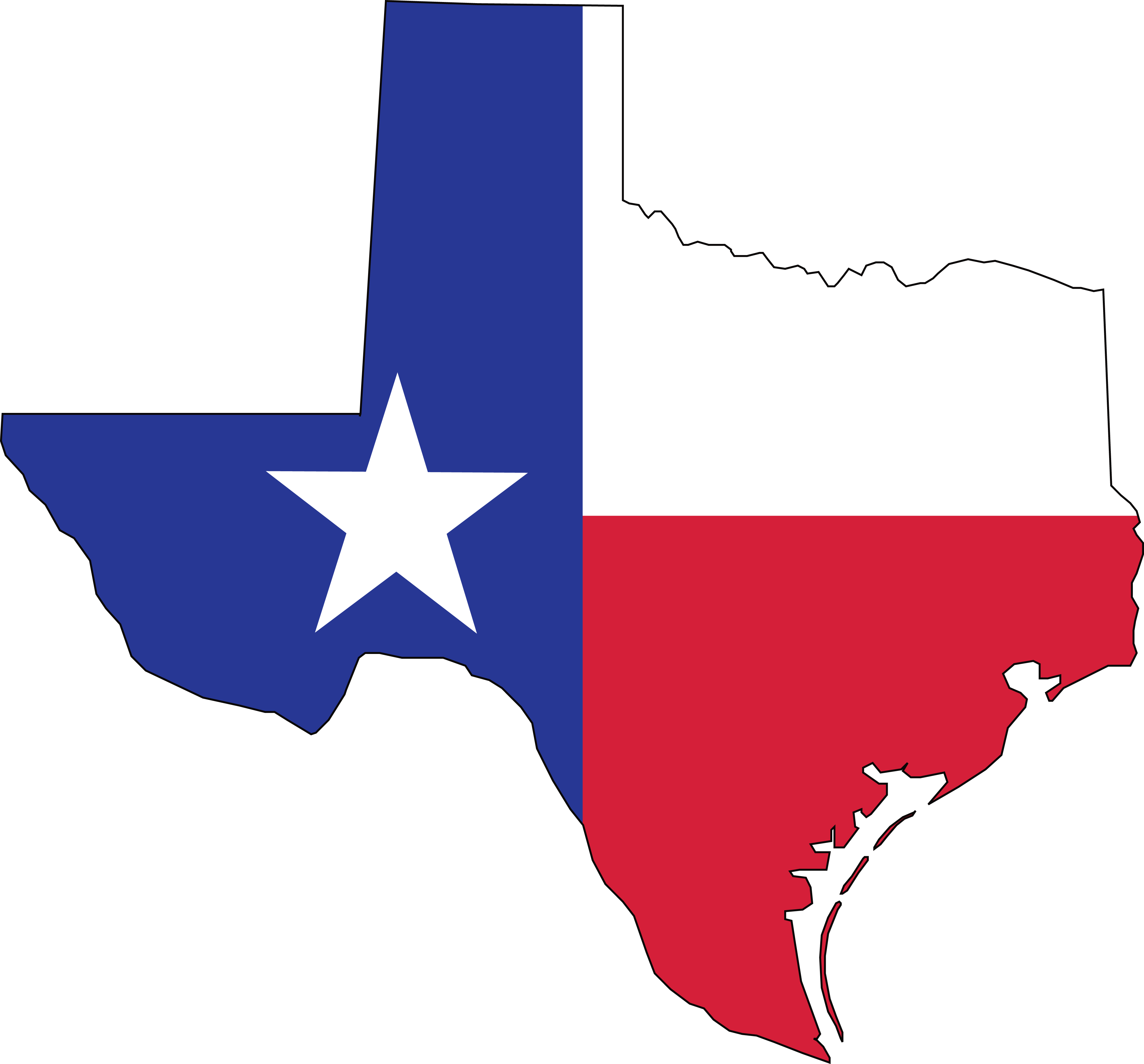 free clipart of a texas flag map rh free clipartof com