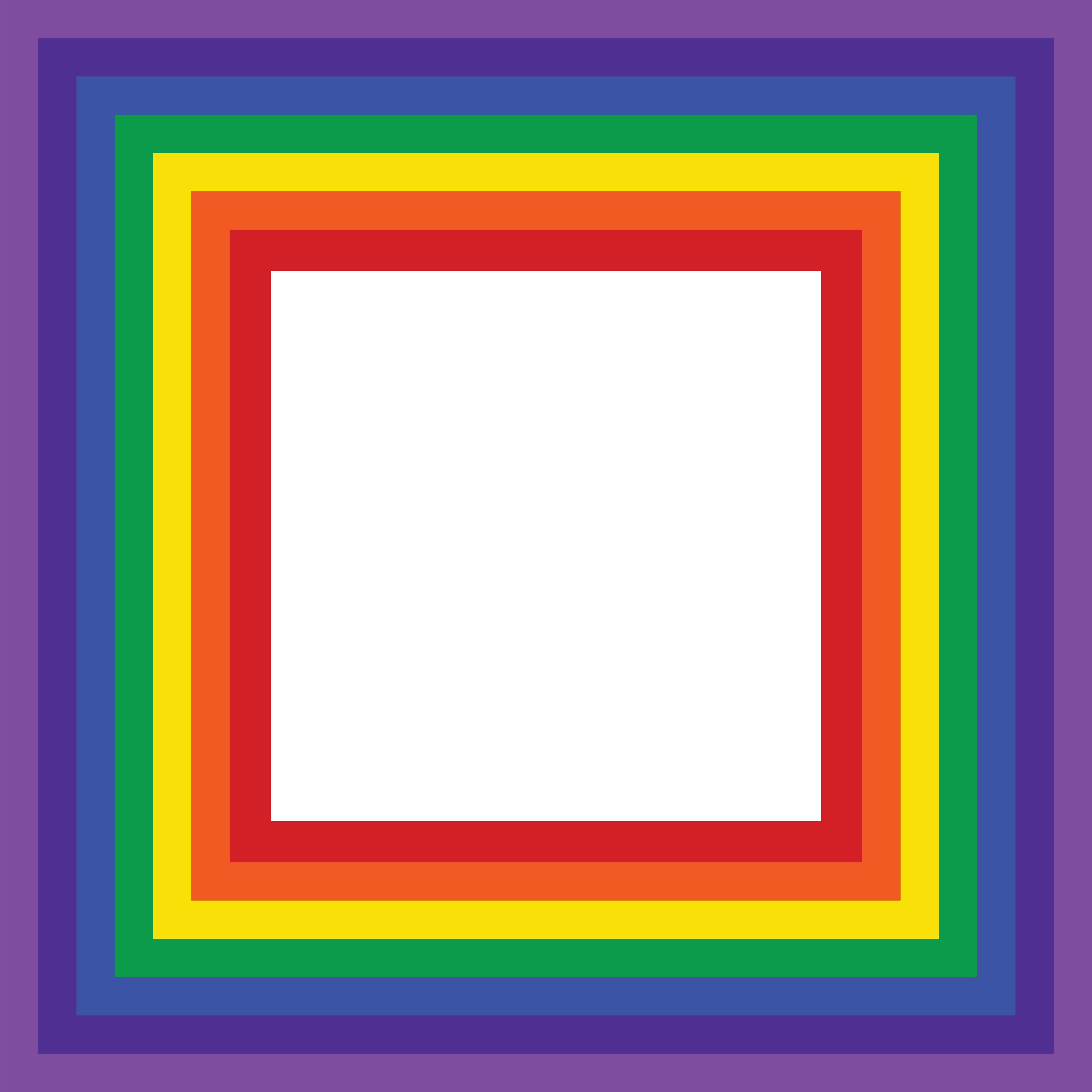 clipart of a rainbow border