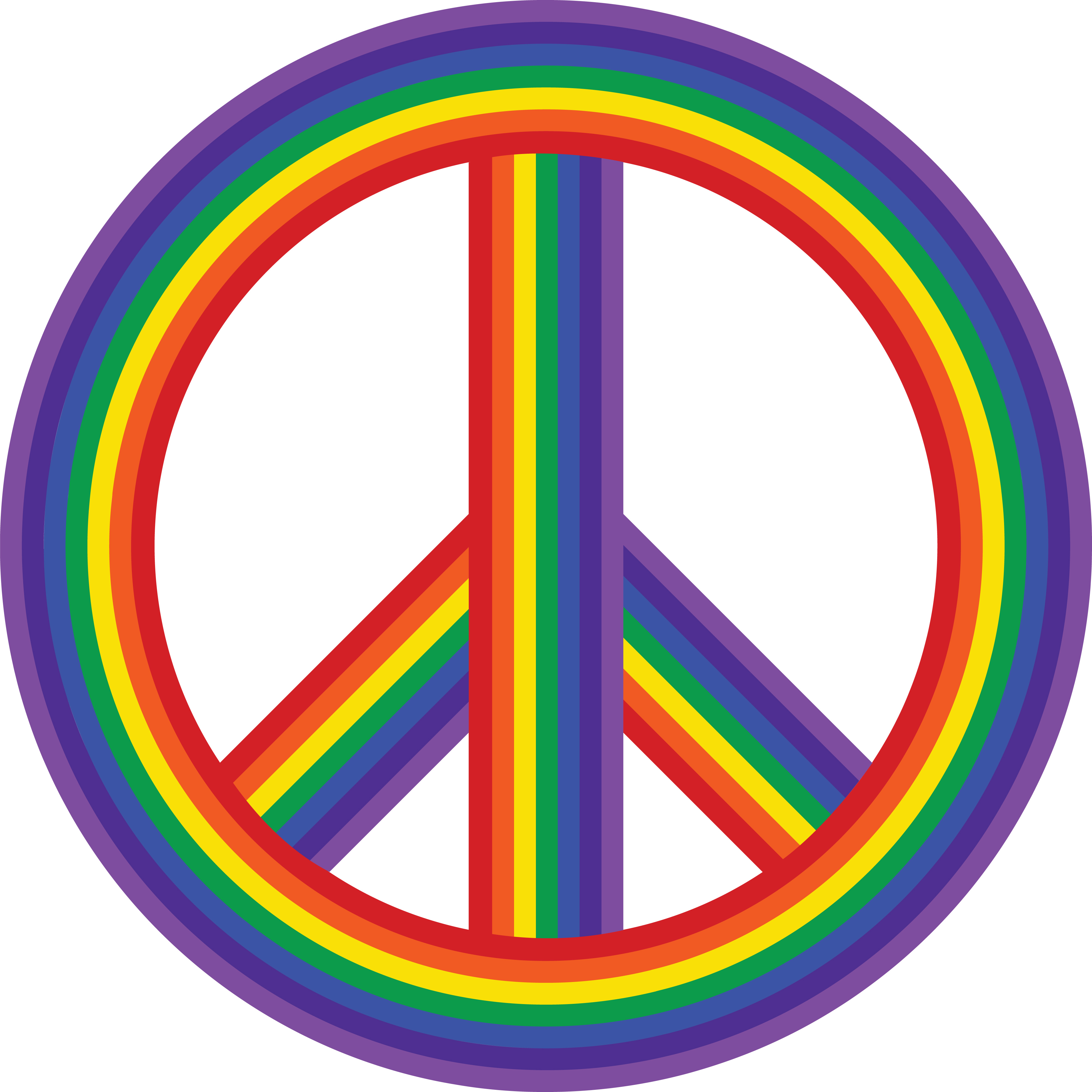Clipart of a rainbow peace symbol free clipart of a rainbow peace symbol 00011975 buycottarizona Choice Image