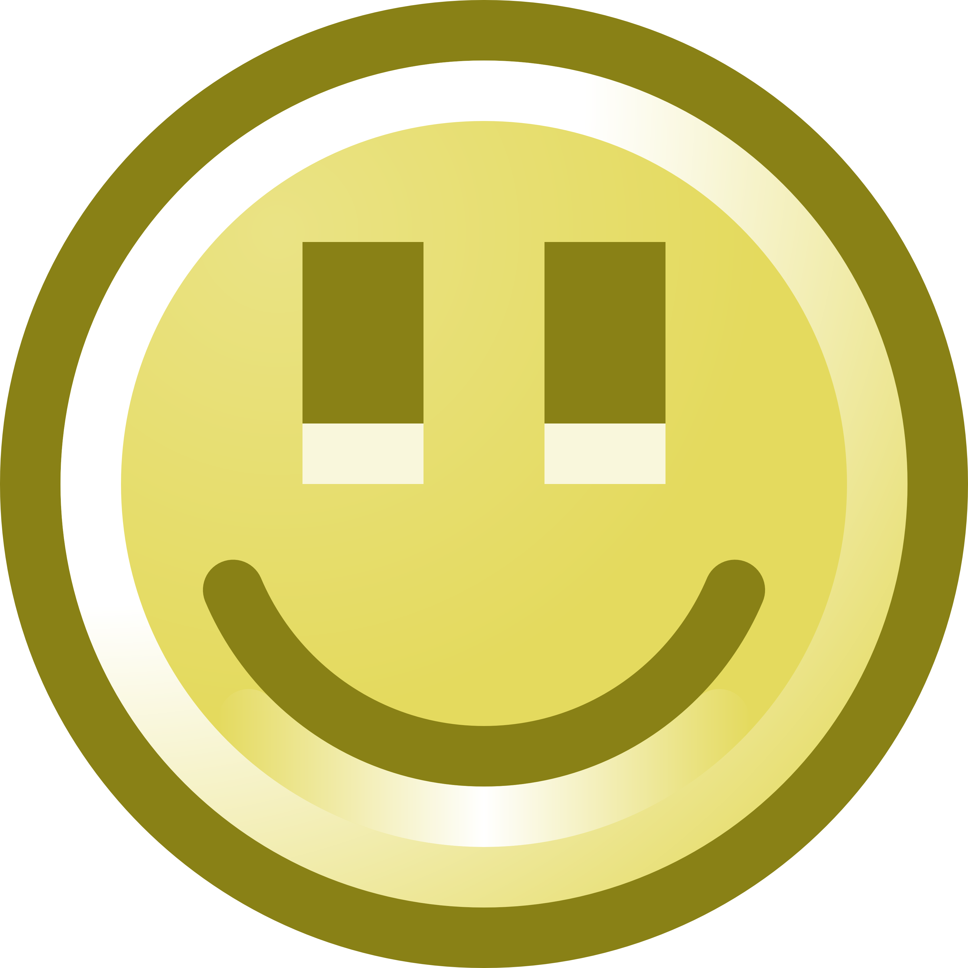 Free Smiling Smiley Face Clip Art Illustration by 000121