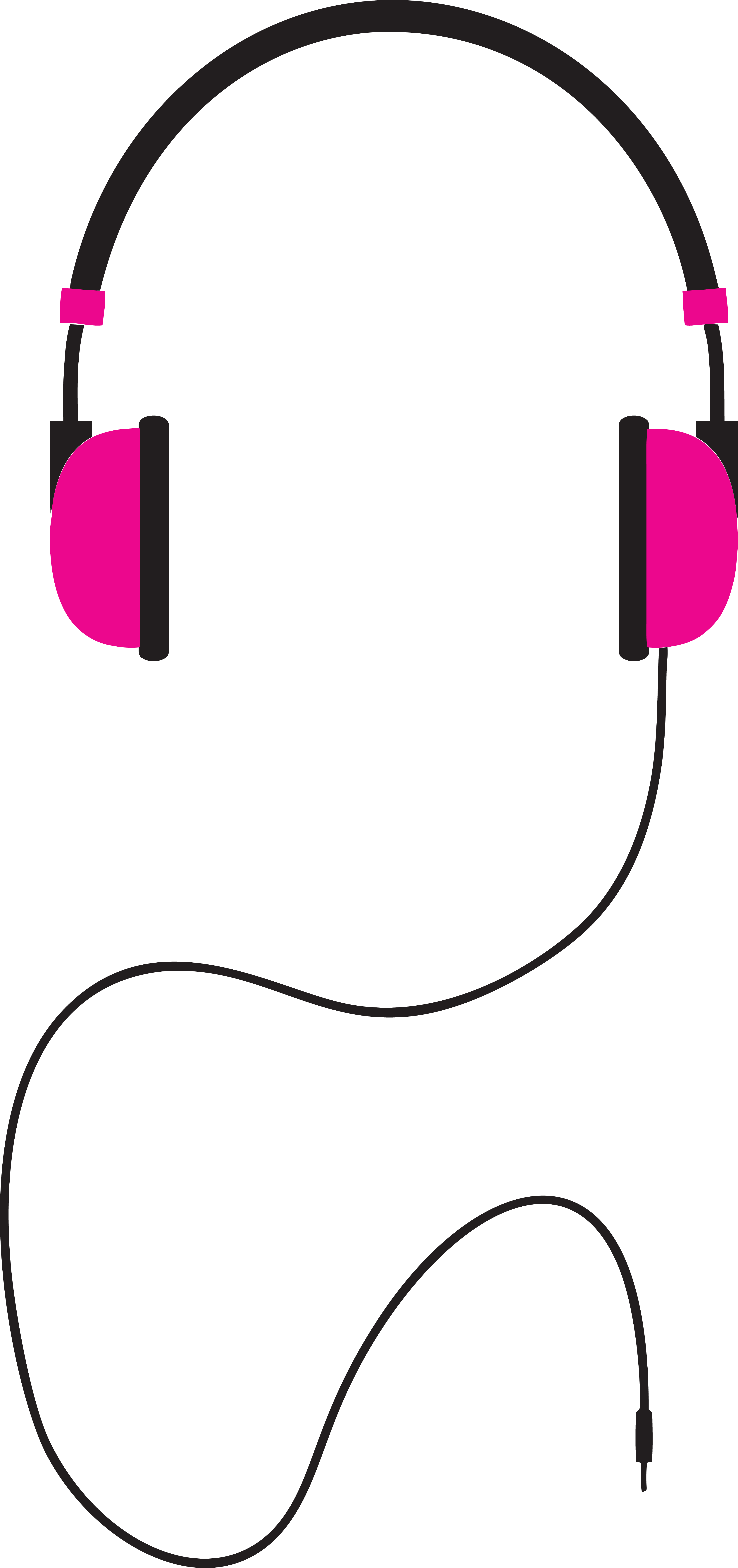 free clipart of a pair of pink headphones rh free clipartof com clipart man headphones headphones clip art free