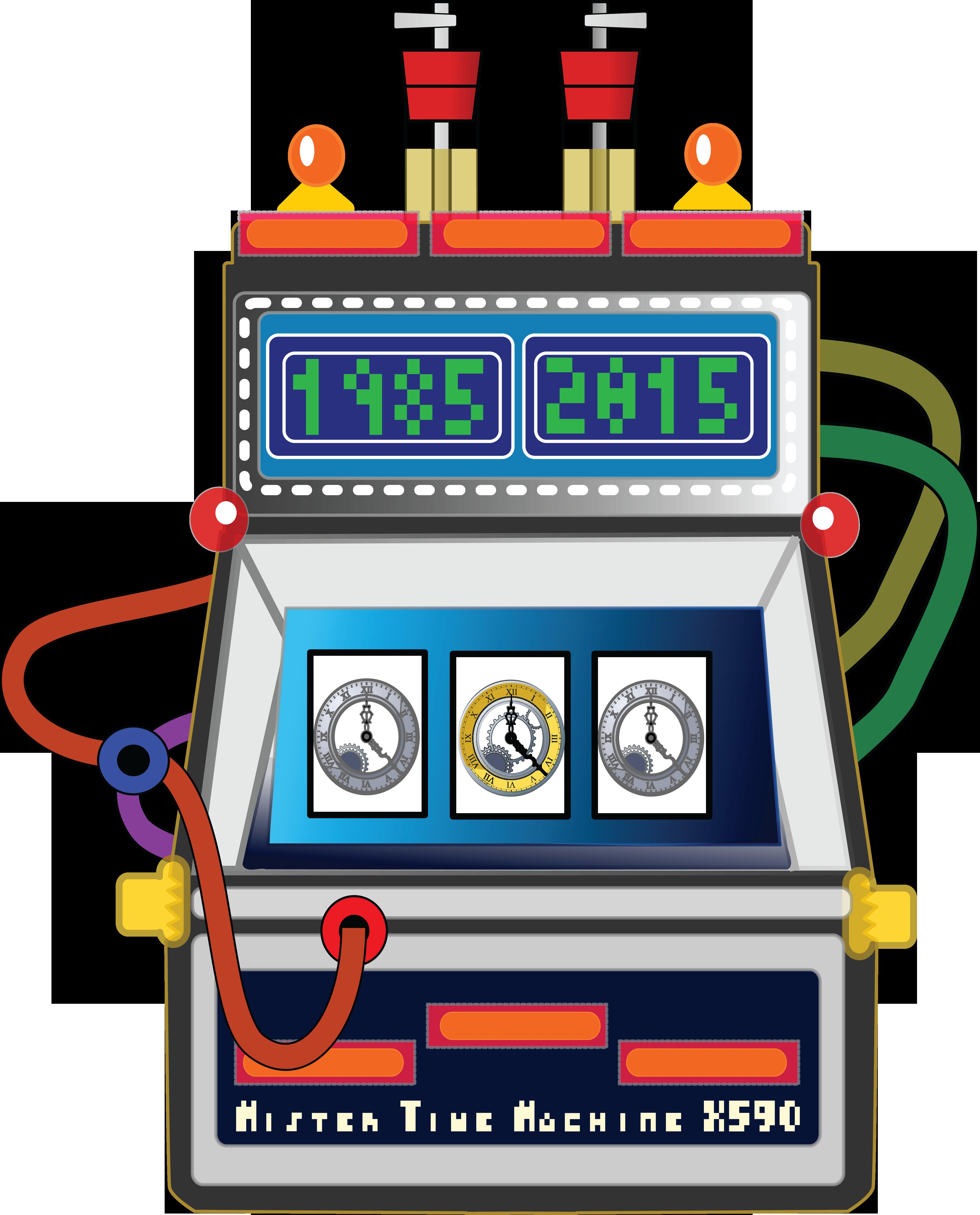 Time Machine Clipart