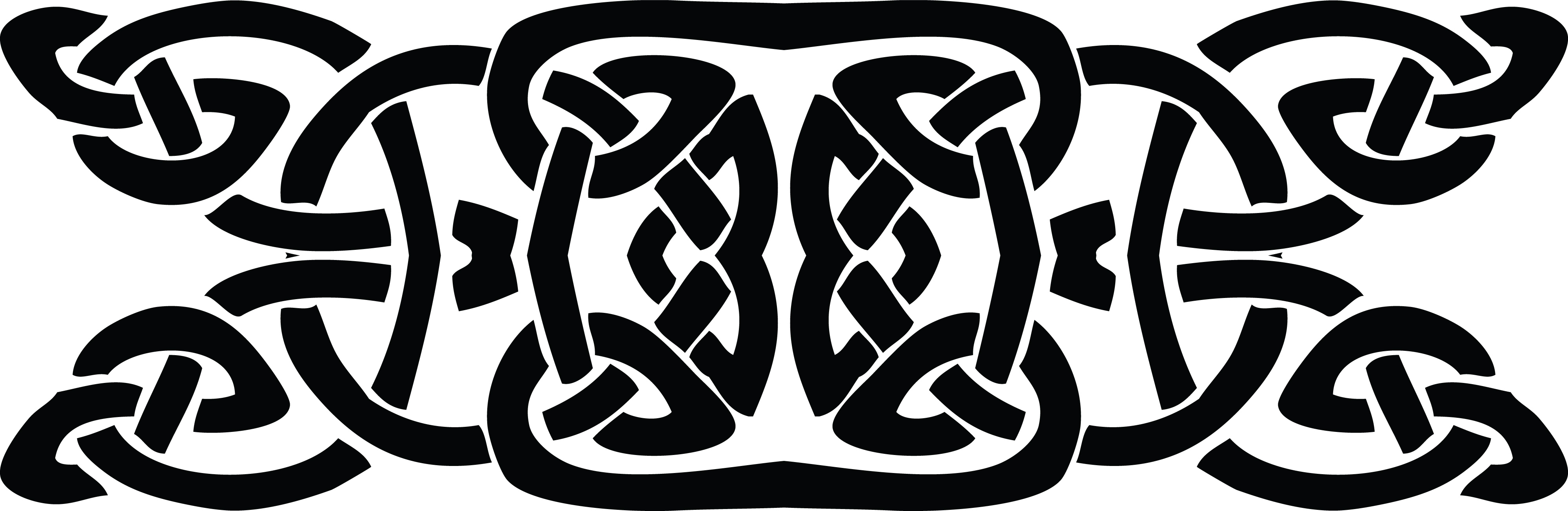 free clipart of a black and white celtic knot border rh free clipartof com celtic knot clipart images celtic knot vector clipart