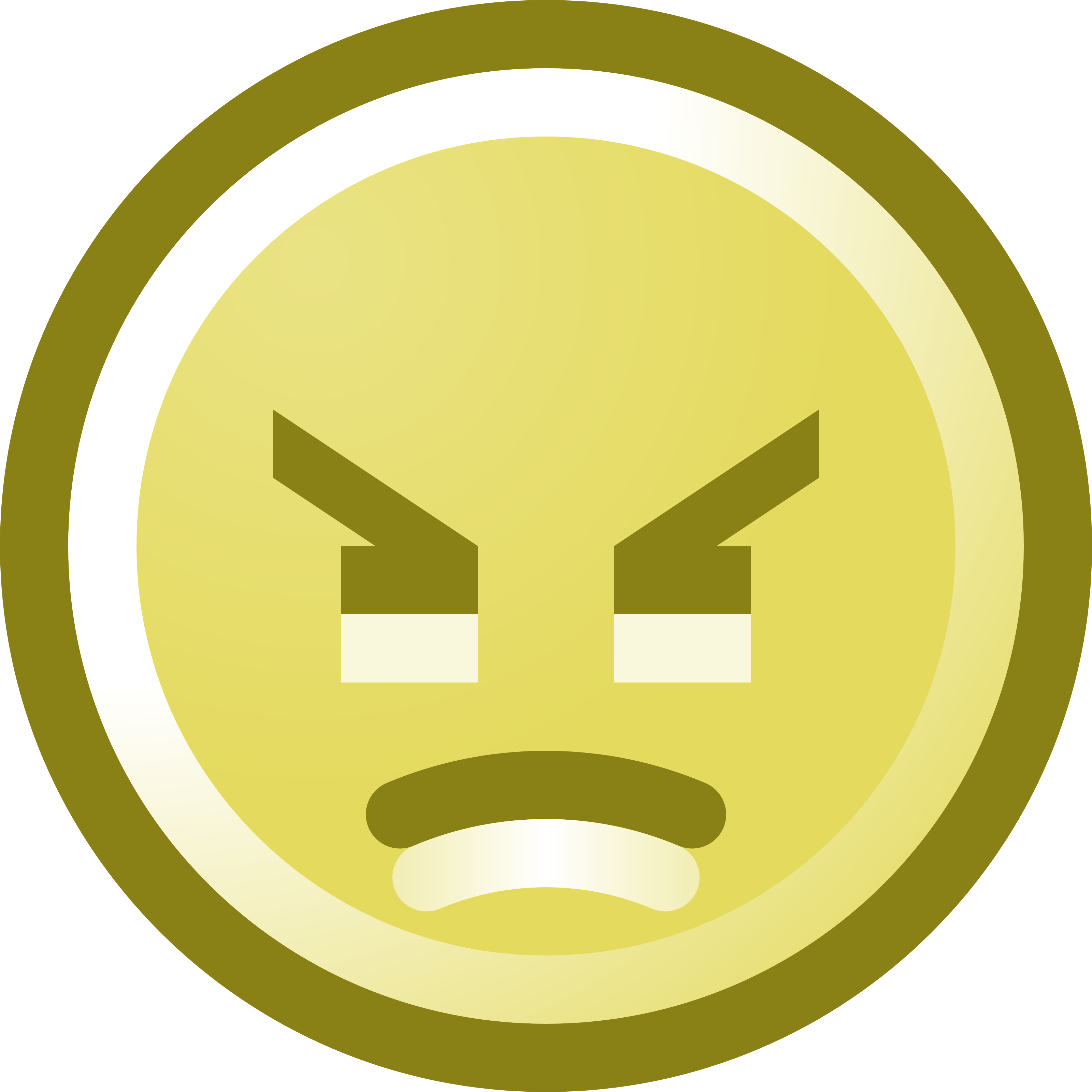free angry smiley face clip art illustration rh free clipartof com