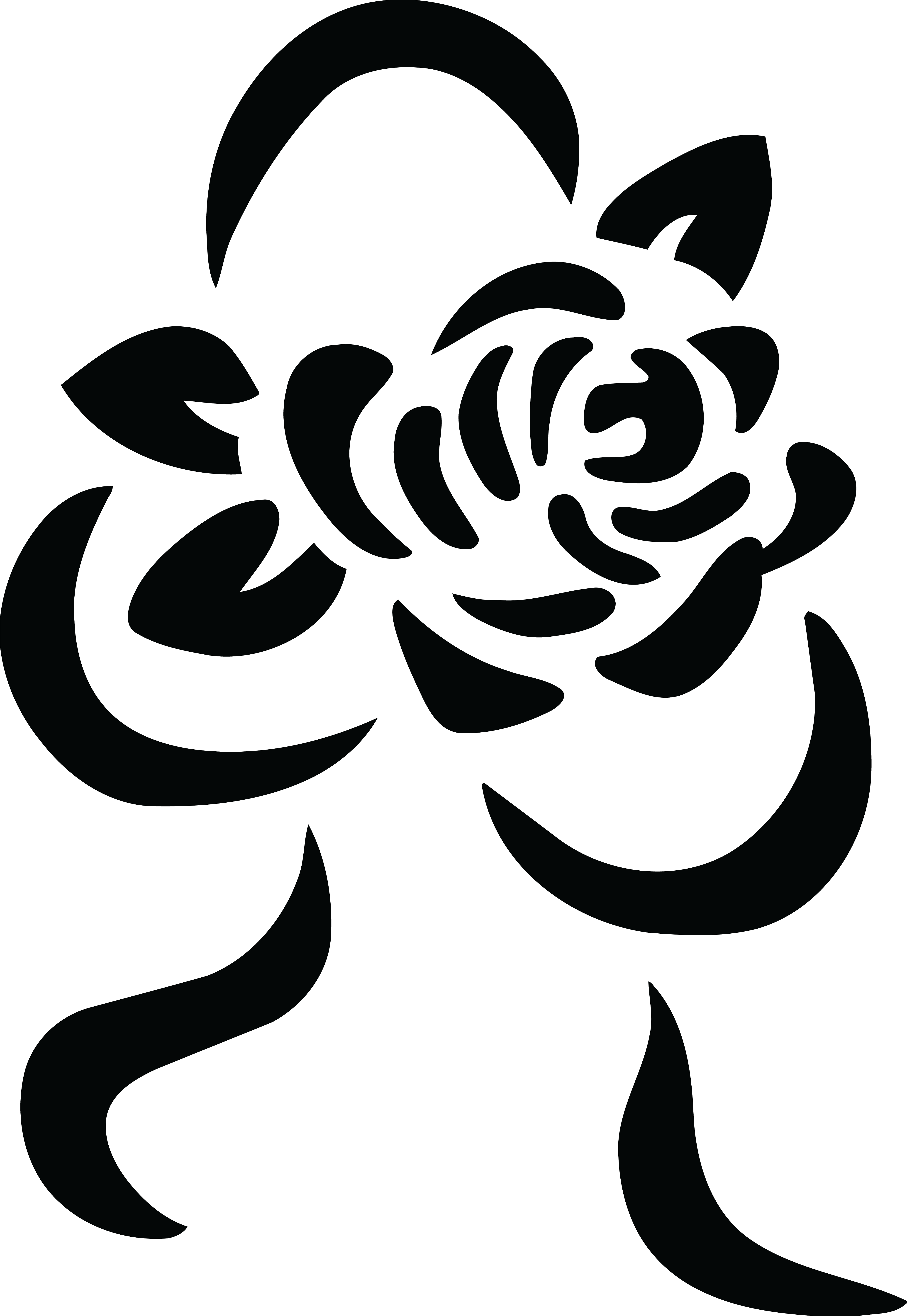 Free clipart of a black and white rose and ribbon bouquet free clipart of a black and white rose and ribbon bouquet 0001334 buycottarizona Choice Image