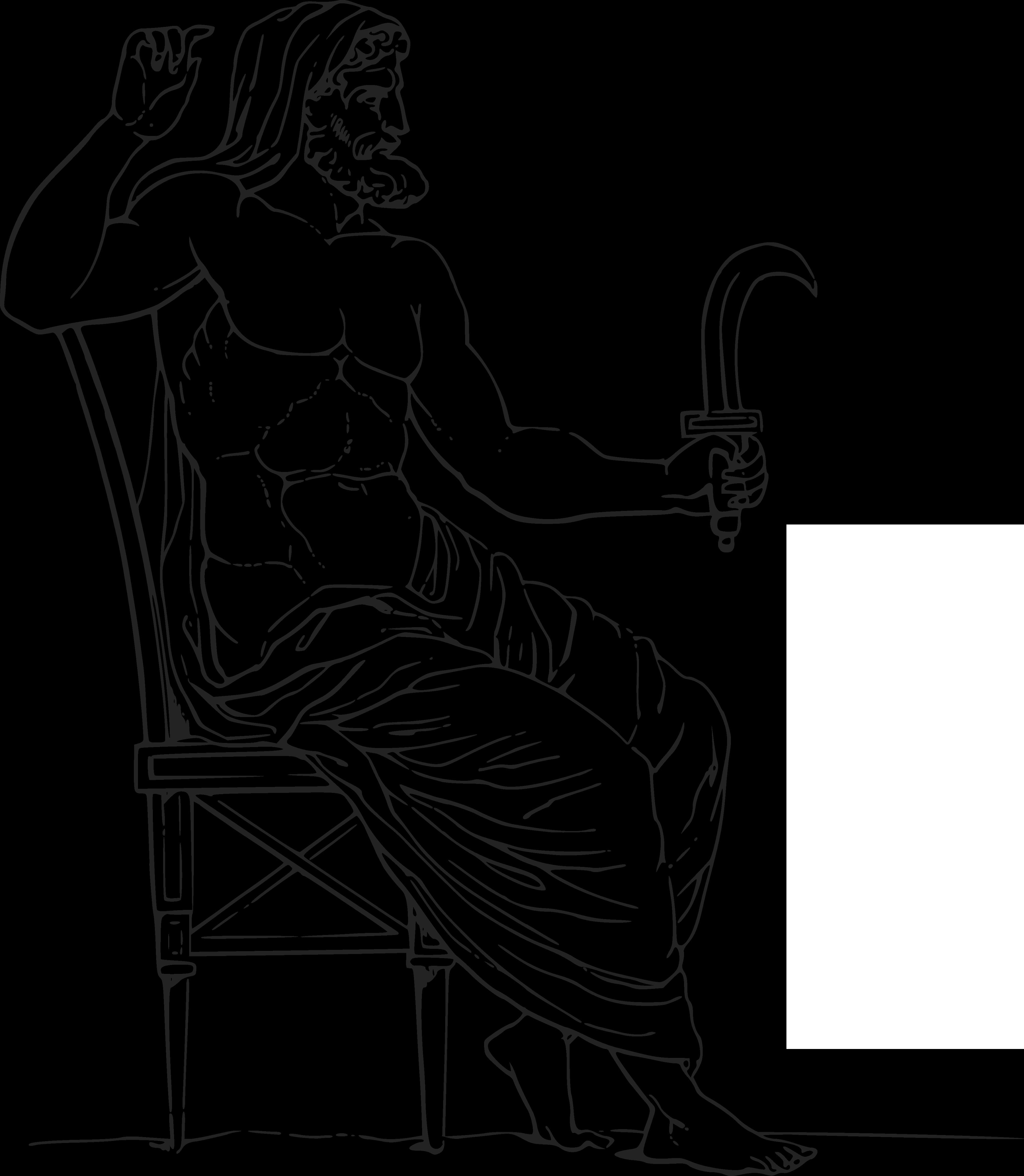 free clipart of a black and white greek mythology god cronus Poseidon Greek God free clipart of a black and white greek mythology god cronus 0001348
