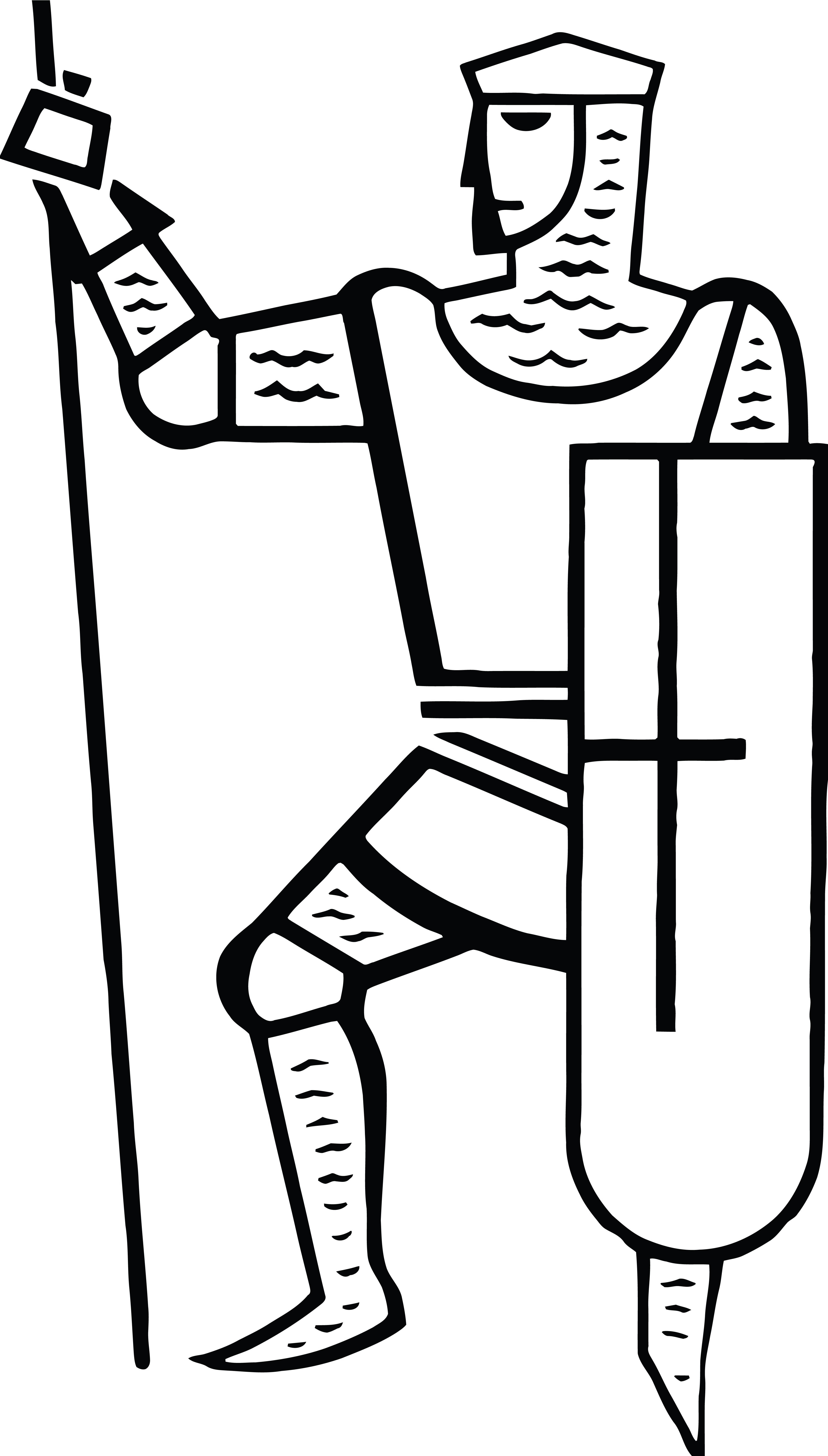 free clipart of a black and white knight with a spear and shield rh free clipartof com free knight helmet clipart free princess and knight clipart