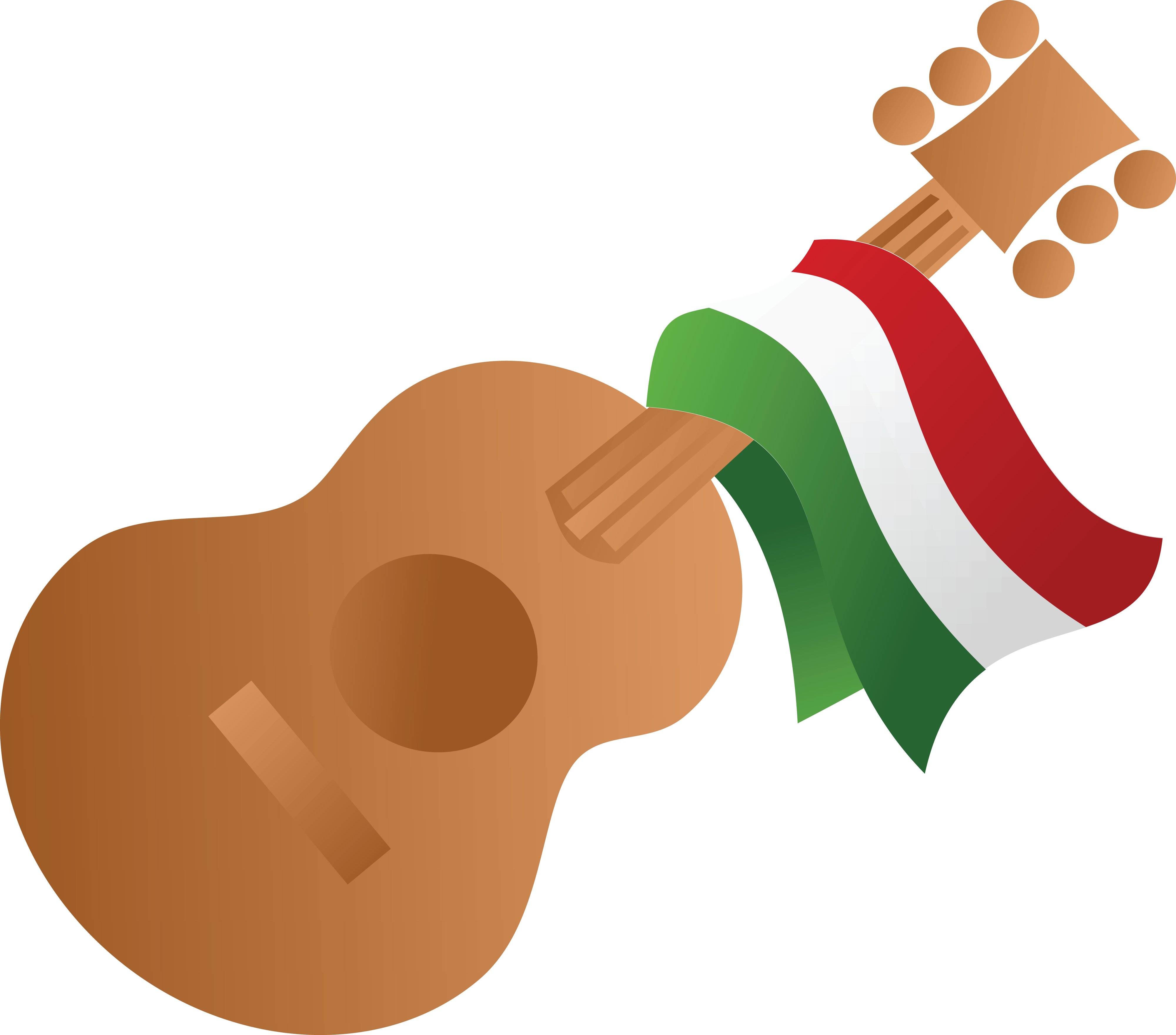 free clipart of a mexican flag draped on a guitar rh free clipartof com free mexican clipart page borders free mexican clip art vector
