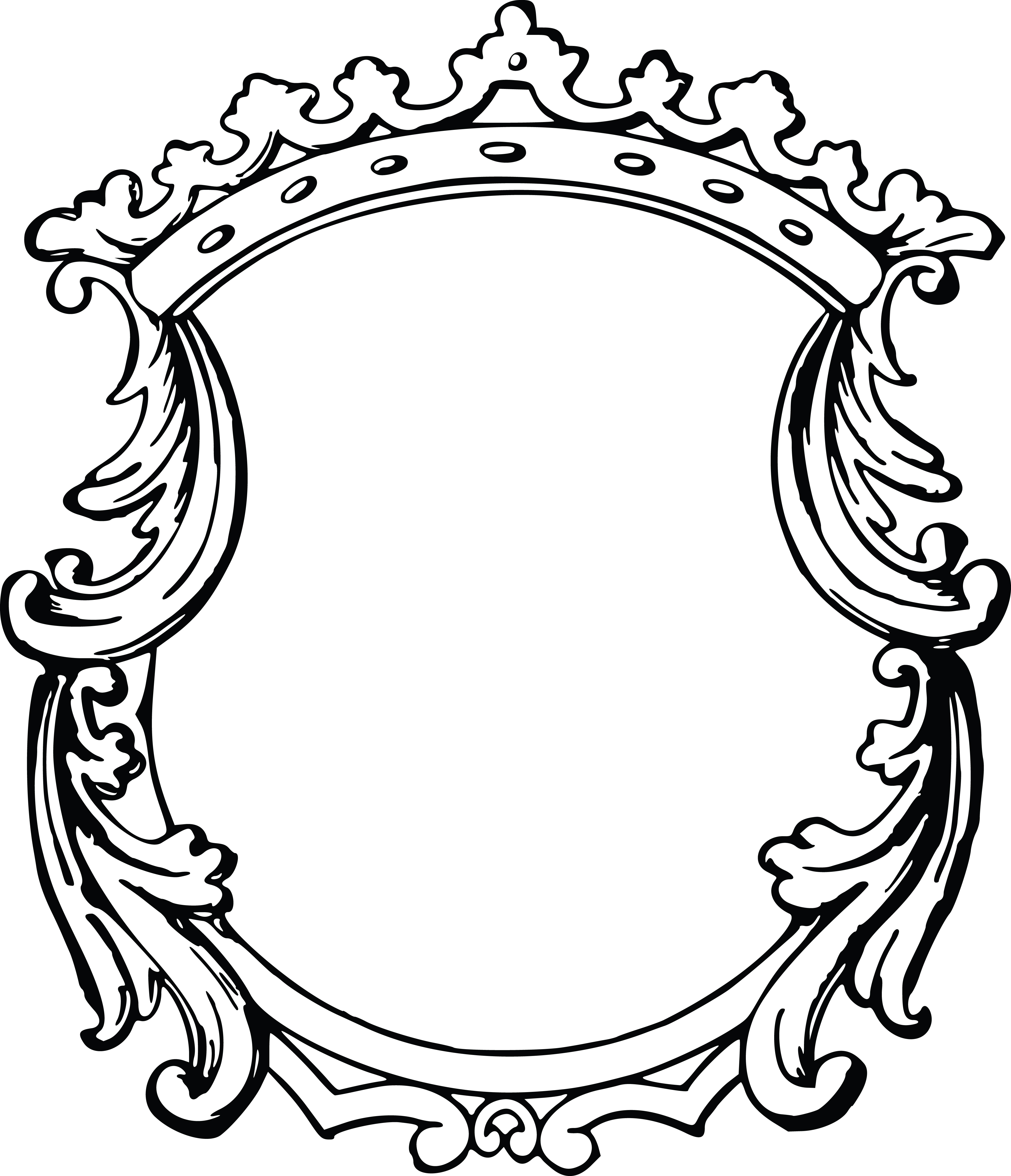 free clipart of a fancy floral frame rh free clipartof com fancy clip art free fancy clipart letters