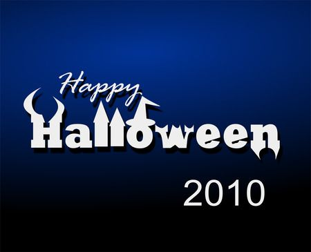 Happy Halloween Greeting - Free Halloween Vector Clipart Illustration