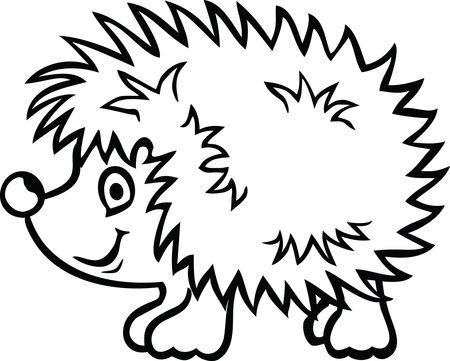 Free Clipart Of A hedgehog