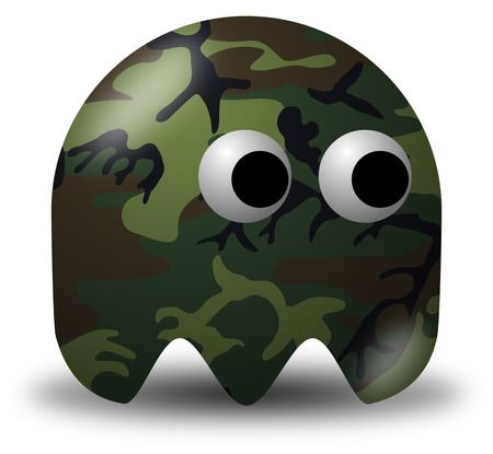 Free Military Vector Clipart Illustration Of A Camouflage Soldier Avatar Character