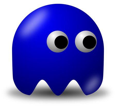 Dark Blue Avatar Character - Free Vector Clipart Illustration