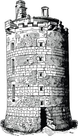 Free Clipart Of A fortress tower