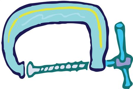 Free Clipart Of A G Clamp