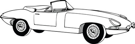 Free Clipart Of A convertible car