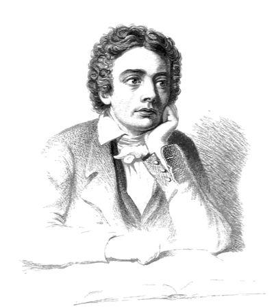 Free Clipart Of john keats