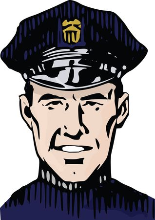 Free Clipart Of A police man