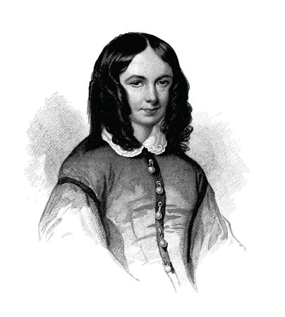 Free Clipart Of Mrs Elizabeth Barrett Browning