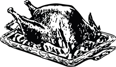 Free Clipart Of A roasted turkey