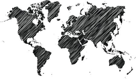 Free Clipart Of A world map