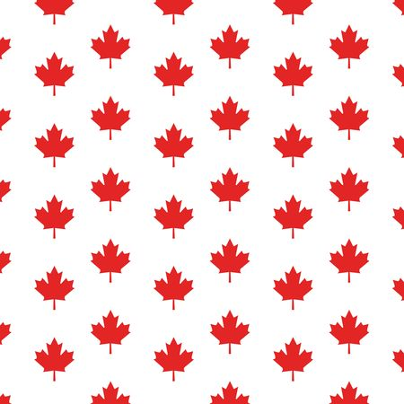 Free clipart of a canadian maple leaf pattern